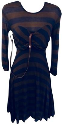 Yigal Azrouel Navy Dress for Women