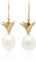 Annette Ferdinandsen Small Pearl Pineapple Earrings