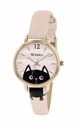 Tikkers Unisex Child Analogue Classic Quartz Watch with PU Strap TK0175