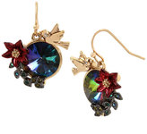Betsey Johnson Surreal Forest Cluster Earrings