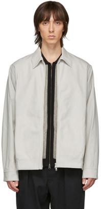 Beams Grey Blouson Jacket