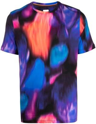 Paul Smith Abstract Print T-Shirt