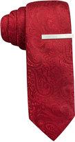Alfani Tonal Paisley Skinny Tie, Only at Macy's