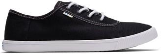 Toms Black Contrast Stitch Carmel Women's Sneakers