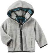 Osh Kosh Oshkosh Bgosh Toddler Boy Sherpa Zip Hoodie
