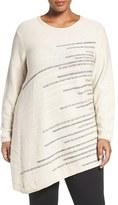 Nic+Zoe Plus Size Women's Shooting Stars Cotton Sweater