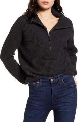 Splendid Cooper Pullover Half Zip Sweater