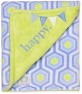 """Boppy Happy"""" Hexagon Plush Blanket"""