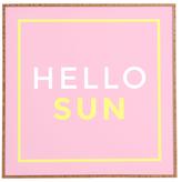 DENY Designs Hello Sun by Zoe Wodarz (Framed)