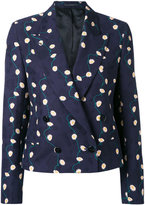 Paul Smith double breasted jacket - women - Cotton/Cupro - 40