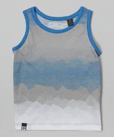 Micros Cobalt Blue Fade Tank - Toddler
