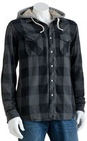 Sonoma life + style checked flannel shirt jacket - men