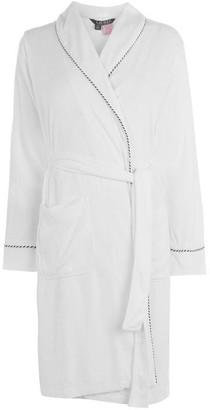 Lauren Ralph Lauren Bodywear Navy Logo Bath Robe