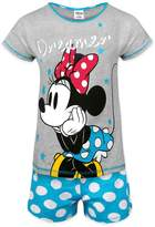 Disney Minnie Mouse Official Gift Ladies Short Pajamas
