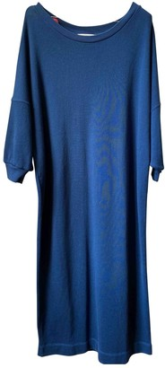 American Vintage Blue Cotton Dress for Women