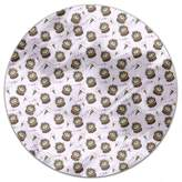uneekee Party with Cakes Round Tablecloth: Small Dining Room Kitchen Woven Polyester Custom Print
