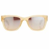 Linda Farrow Apricot Acetate Sunglasses