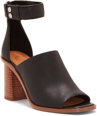 1 STATE Faen Ankle Strap Genuine Calf Hair Sandal