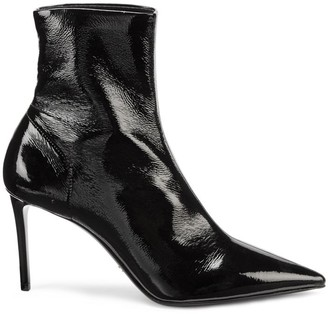 Prada Naplak Point-Toe Bootie
