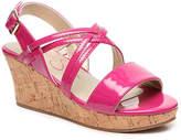 Jessica Simpson Girls Felix Toddler & Youth Wedge Sandal -Fuchsia