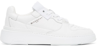 Givenchy White Wing Sneakers