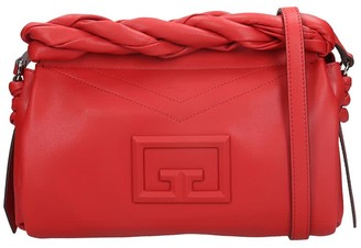 Givenchy Id 93 Crossbody Shoulder Bag In Red Leather
