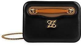 Fendi Women's Karligraphy Leather Shoulder Bag