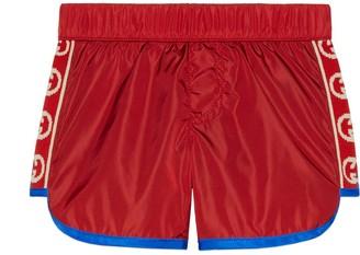 Gucci Baby swim shorts with InterlockingG