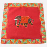 Spice Kitchen Indian Inspired Elephant Cushion Cover