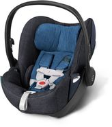 Cybex Cloud Q Plus Infant Car Seat with Load Leg Base in True Blue Denim