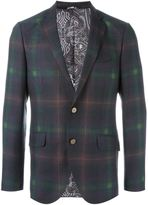 Etro checked blazer - men - Silk/Acetate/Viscose/Wool - 50