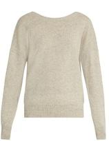 Nili Lotan Jolie V-back cashmere sweater