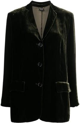 Aspesi Velvet Tailored Blazer