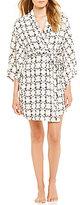 Josie Daisy Chain Challis Kimono Wrap Robe
