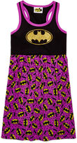 Asstd National Brand AME Batman Sleeveless Nightshirt - Girls 7-20