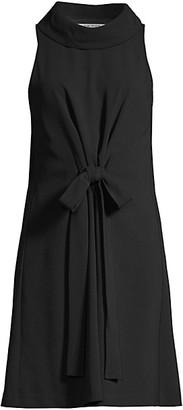 Trina Turk Eastern Lux Jun Tie-Front Sleeveless Dress