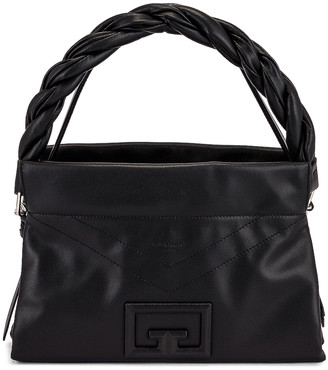 Givenchy Medium ID 93 Twisted Strap Zip Bag in Black | FWRD