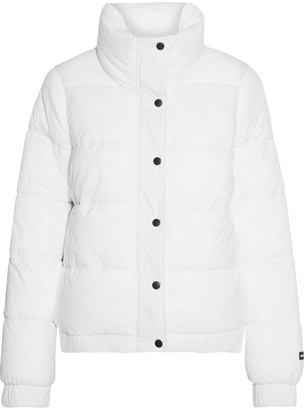 DKNY Printed Quilted Shell Jacket