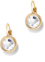 New York & Co. Sparkling Circular Drop Earrings