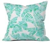 DENY Designs Lani Kai Leaf Pillow