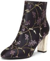 Dorothy Perkins Black 'Alyce' Jacquard Ankle Boots