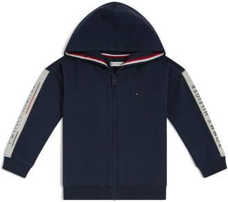 Tommy Hilfiger Logo Side Stripe Hoodie