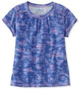 L.L. Bean L.L.Bean Girls Trail Tee, Print