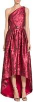 St. John Avani Rose Jacquard Gown