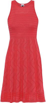 M Missoni Crocheted Cotton-blend Dress