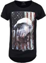 Boom Bap Eagle Print Tshirt Black/black