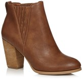 Call it SPRING Heeled Ankle Boots