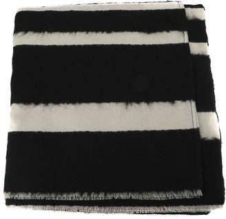 Dondup Striped Wool Poncho