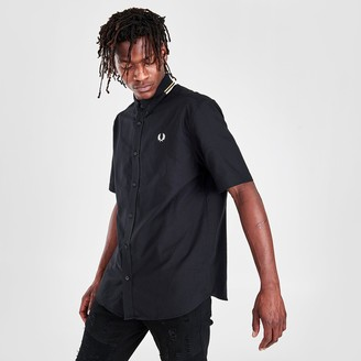 Fred Perry Men's Button-Up Placket Shirt