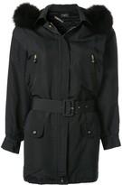 Chanel Pre Owned short parka jacket